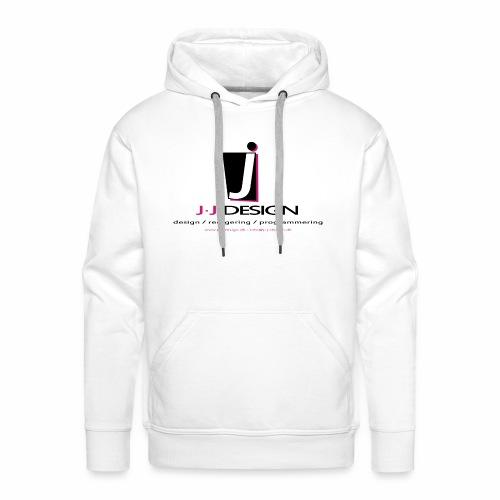 LOGO_J-J_DESIGN_FULL_for_ - Herre Premium hættetrøje