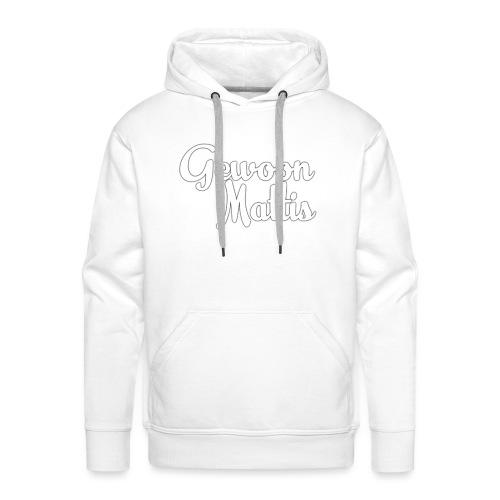 GewoonMattis Shirt Vrouwen - Mannen Premium hoodie
