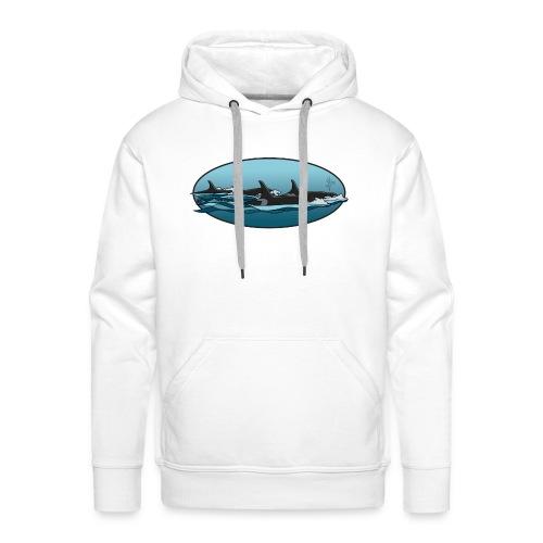 orka - Mannen Premium hoodie