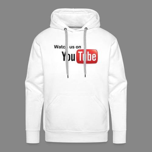 youtube hd logo by marcosrstone d37ot4e png - Mannen Premium hoodie