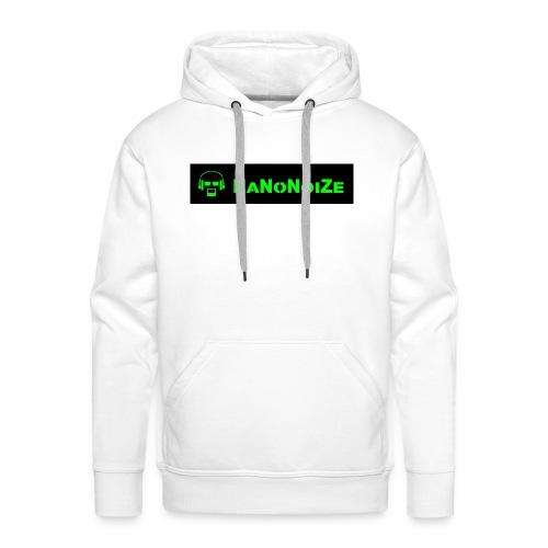 logo full - Mannen Premium hoodie