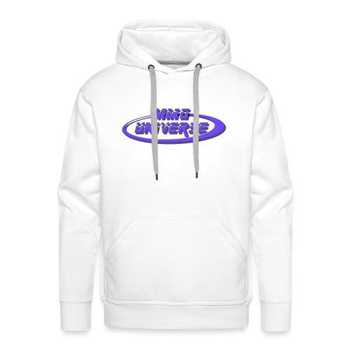 MMO-Universe - Felpa con cappuccio premium da uomo