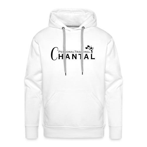 Logo Chantal xtra zwart png - Mannen Premium hoodie