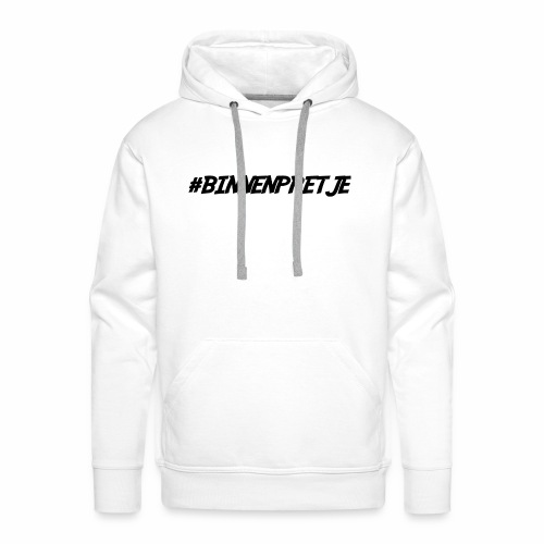 binnenpretje thermoskan - Mannen Premium hoodie