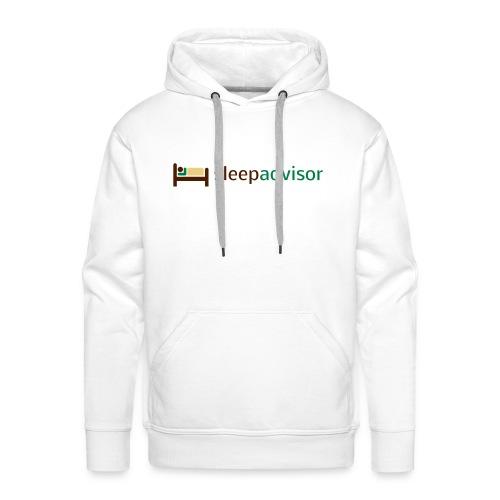 SleepAdvisor - Felpa con cappuccio premium da uomo