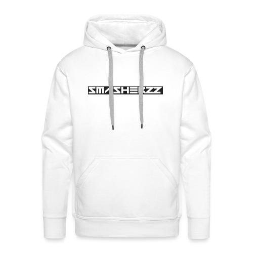 Smasherzz pet grijs/zwart - Mannen Premium hoodie