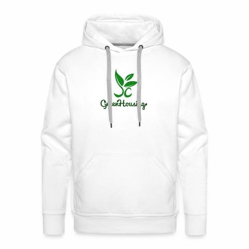 Full Logo - Mannen Premium hoodie