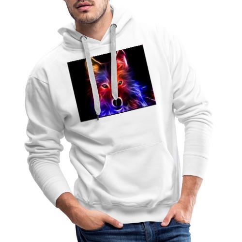 Zorro espacial - Sudadera con capucha premium para hombre