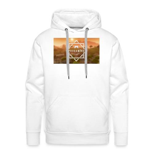 desktop back0 - Mannen Premium hoodie