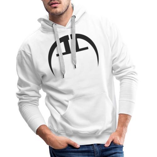 halb schwarz - Männer Premium Hoodie