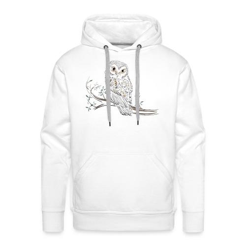 owl stevanka eule - Männer Premium Hoodie