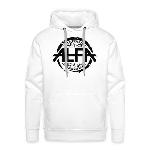 Alfa Logo - Männer Premium Hoodie