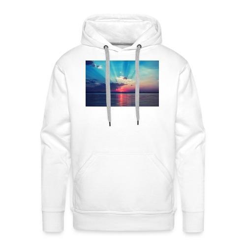 Primus- Sunrise T-shirt Weiß - Männer Premium Hoodie
