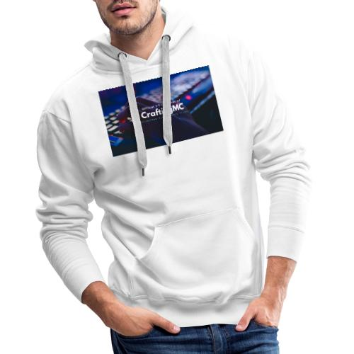 CraftingMC Banner - Männer Premium Hoodie