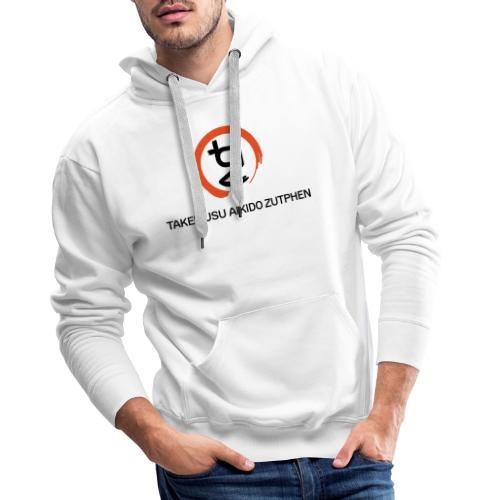 TAZ Logo Enso - Mannen Premium hoodie