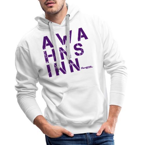 HazyShirt05awahnsinn - Männer Premium Hoodie