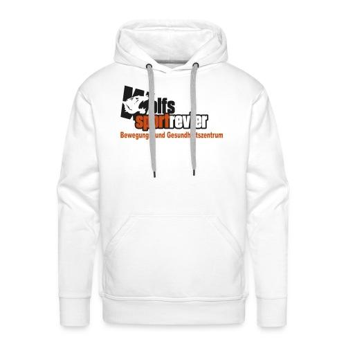 Wolfs Sportrevier - Männer Premium Hoodie
