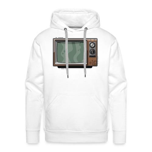 Televisie old school - Mannen Premium hoodie