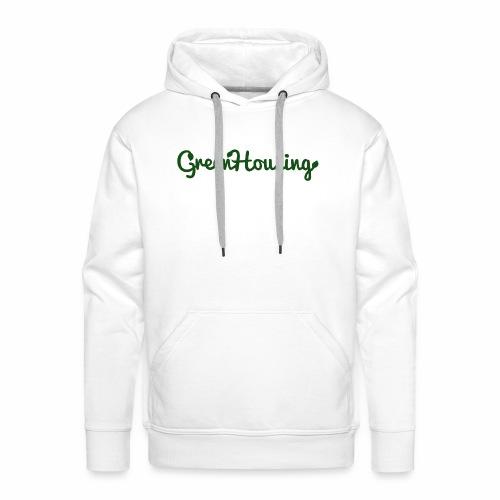 Letterlogo - Mannen Premium hoodie