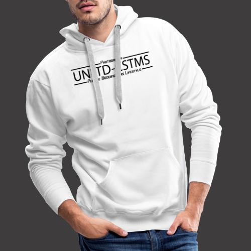 unlimited 02042020 schwarz - Männer Premium Hoodie