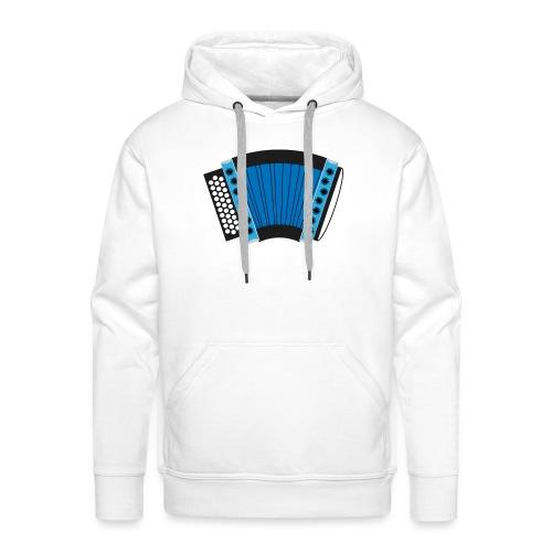 Schwyzerörgeli schwarz/blau - Männer Premium Hoodie
