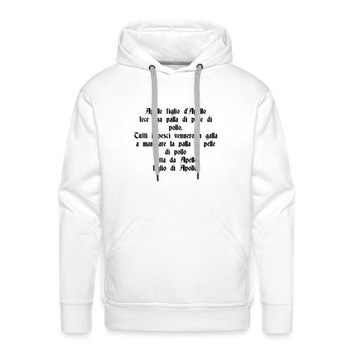 Sciogli Lingua Maglietta Uomo Donna Divertente - Felpa con cappuccio premium da uomo