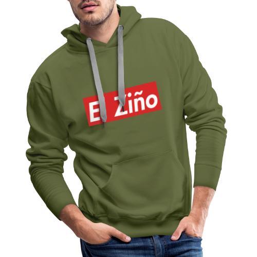 El Ziño - Sweat-shirt à capuche Premium pour hommes