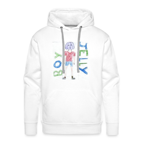 Awesome drawing made by: 'Anonymous' - Men's Premium Hoodie