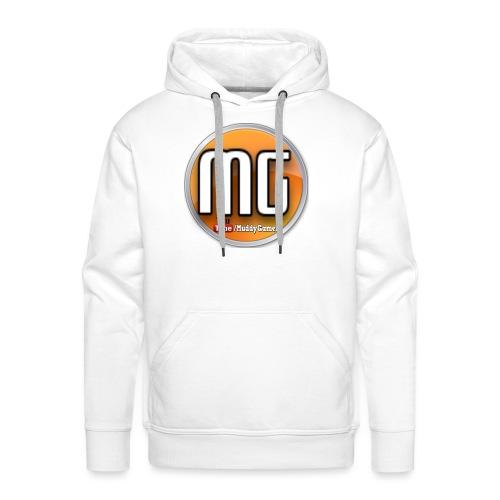 muddy gamer branding - Men's Premium Hoodie