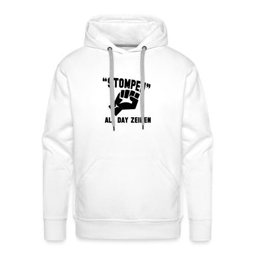 Stompen - Mannen Premium hoodie