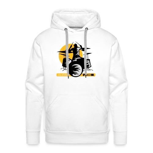 logo ivo Elfers drummer - Mannen Premium hoodie