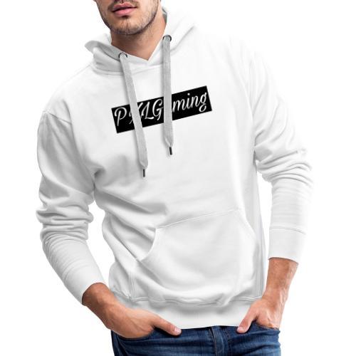 Einfaches Logo - Männer Premium Hoodie