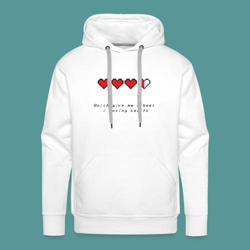 The Legend of Drunk - Mannen Premium hoodie