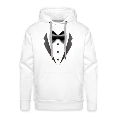 tuxedo - Sudadera con capucha premium para hombre