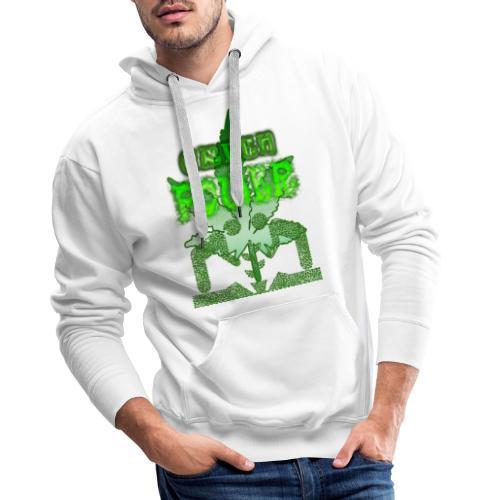 Green Power - Sweat-shirt à capuche Premium pour hommes