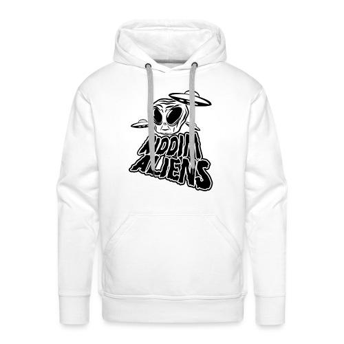 Riddim Aliens (Black Design) - Men's Premium Hoodie