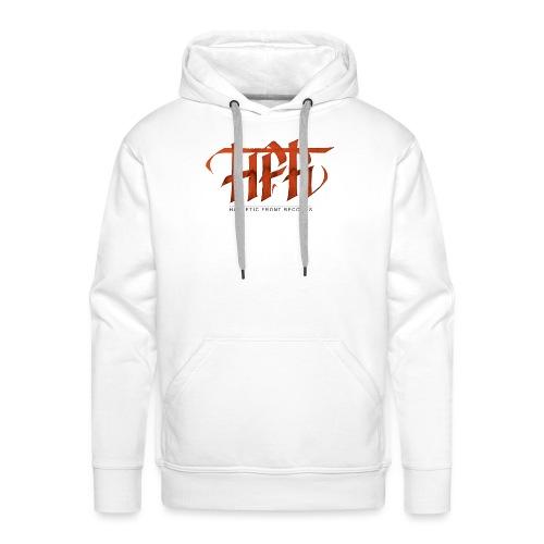 HFR - Logotipo fatto a mano - Felpa con cappuccio premium da uomo