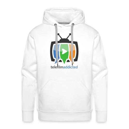 Telefilm Addicted Logo - Felpa con cappuccio premium da uomo
