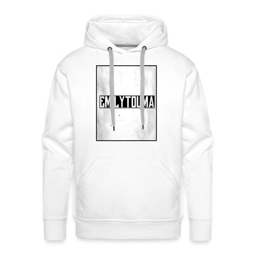 emilytouma desgin groot 5000 4000 png - Mannen Premium hoodie