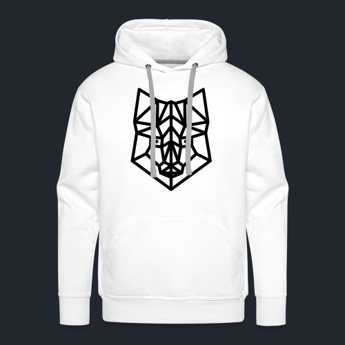 vos simpel groot - Mannen Premium hoodie