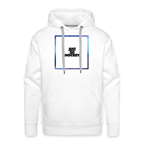 JUSTDOHOCKEY - Mannen Premium hoodie