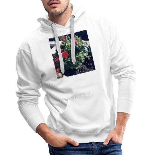Blumen Foto - Männer Premium Hoodie