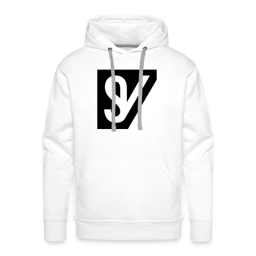 watermerk zwart png - Mannen Premium hoodie