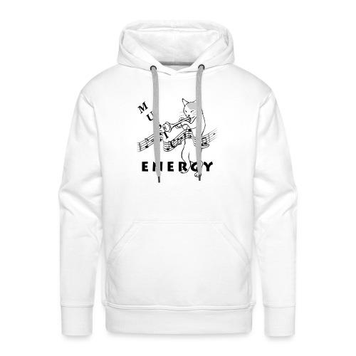 Music-Is-Energy - Men's Premium Hoodie