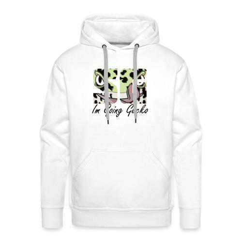 Serious Im Going Gecko - Mannen Premium hoodie