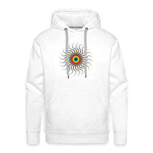 Abstract sun tote bag - Men's Premium Hoodie