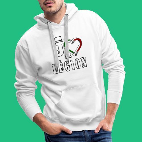jaime la legion - Sweat-shirt à capuche Premium pour hommes