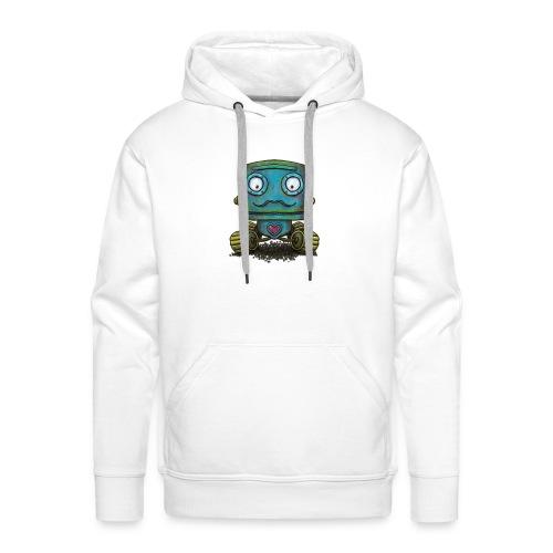 Robot op wielen - Men's Premium Hoodie