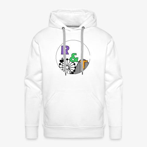 *Limited Edition* Robin & Thomas Merch Zwart - Mannen Premium hoodie