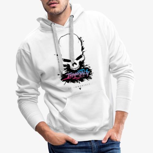 ZF Immortals Skull - Men's Premium Hoodie